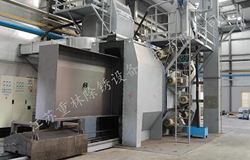 钢结构抛丸除锈机和除锈的价格