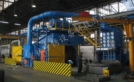 Q2020钢结构钢板抛丸机结构工作原理和技术参数